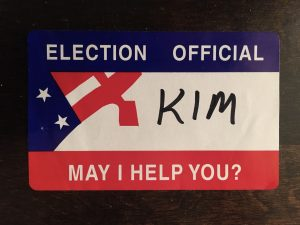 Election Official Nametage
